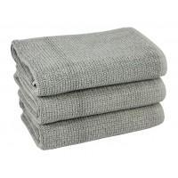 Полотенце для ног Marlon серое махровое