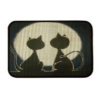 Коврик для котов под лоток Izzihome Catsline Romantik Kediler