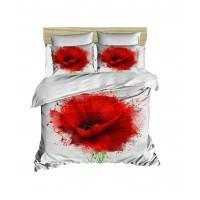 Постельное белье Lighthouse ранфорс 3D Poppy Flower