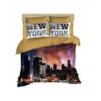 Постельное белье Lighthouse ранфорс 3D New York
