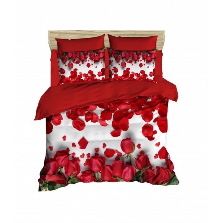 Постельное белье Lighthouse ранфорс 3D Red Roses