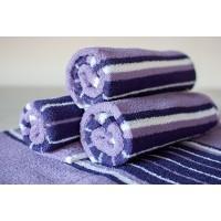 Полотенце махровое АВ фиолетово-синее 7