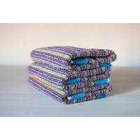 Полотенце махровое АВ цветное полосатое 18