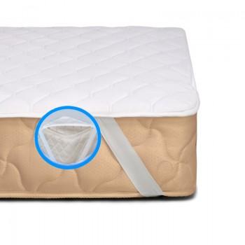Наматрасник MirSon Natural Line №962 Стандарт Cotton с резинкой по углам