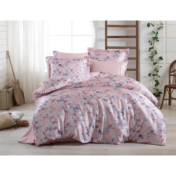 Постельное белье HOBBY сатин Crash Isabella розовое