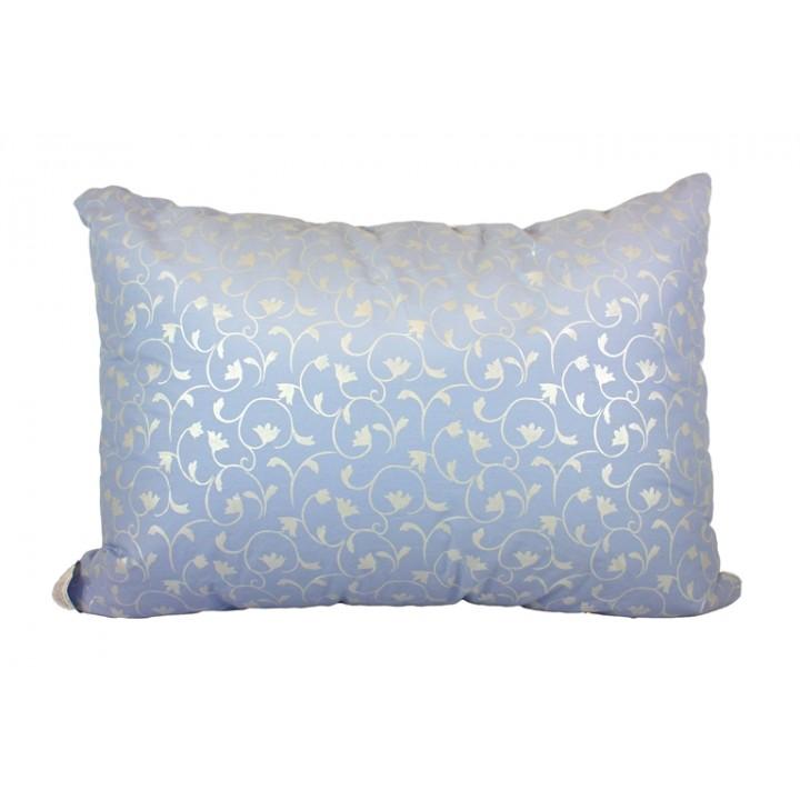 Подушка LightHouse Dreamy Лебяжий пух голубая антиаллергенная