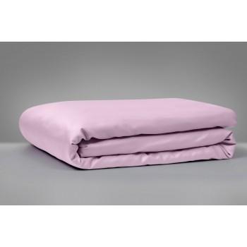 Простынь MirSon 00199 Laura сатин светло-фиолетовая