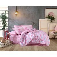 Постельное белье HOBBY поплин Lavida розовое