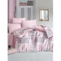 Постельное белье Lighthouse ранфорс Burcak розовое