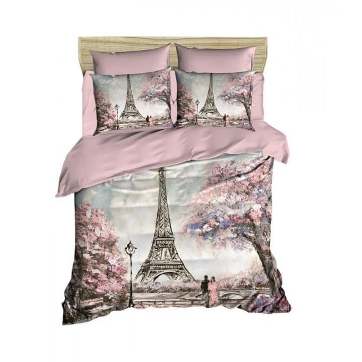 Постельное белье Lighthouse ранфорс 3D Paris Spring