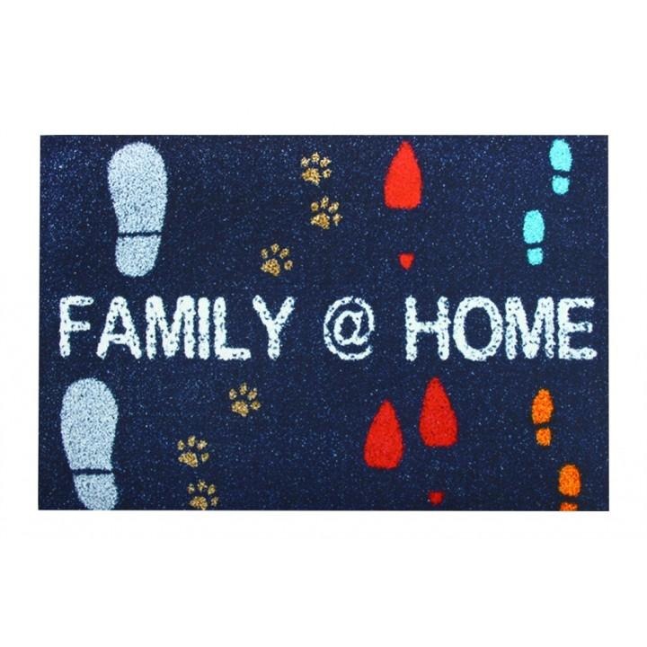 Коврик придверный Izzihome Peppina Family Home