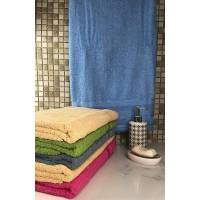Полотенце махровое ST Soft Однотонное 70*135 банное