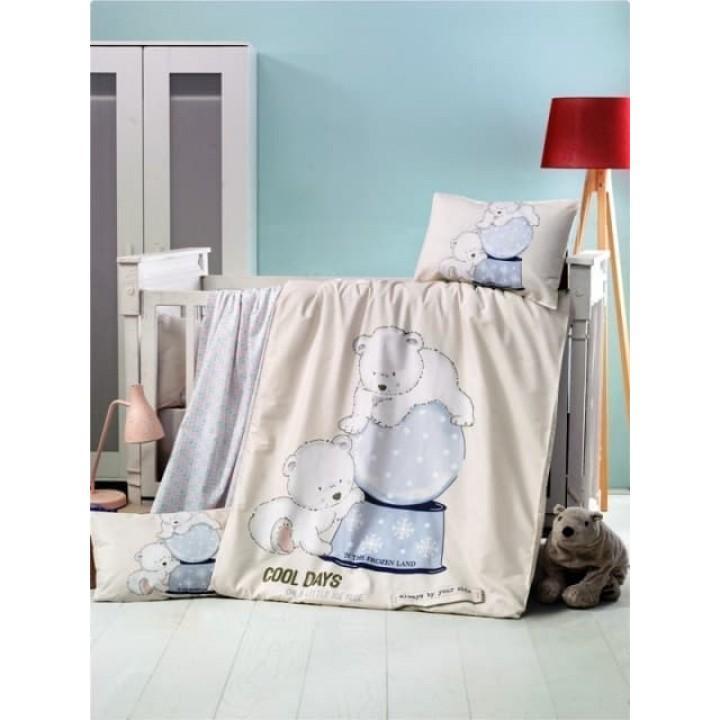 Детское постельное белье в кроватку LightHouse ранфорс Frozen