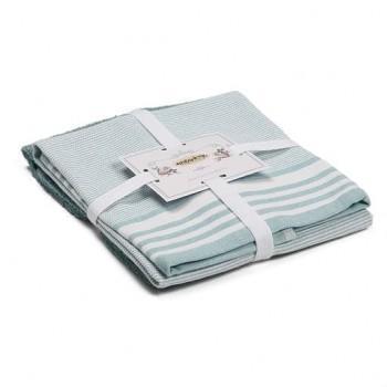 Набор полотенец для кухни Flat мята 2шт