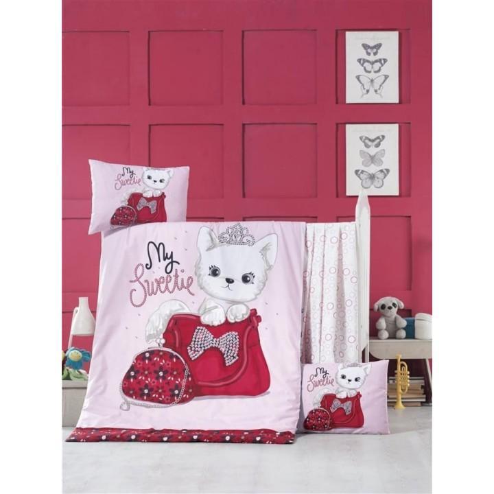 Детское постельное белье в кроватку LightHouse ранфорс Tiny Cat