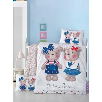 Детское постельное белье в кроватку LightHouse ранфорс Lower