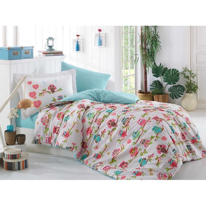 Подростковое постельное белье HOBBY поплин Candy розовое