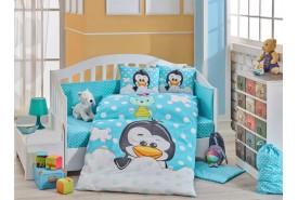 hobby-poplin-penguin-goluboe