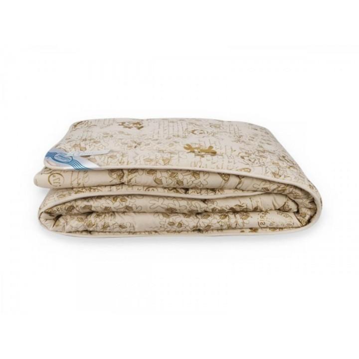 Легкое одеяло Шерсть Leleka-Textile Цветы