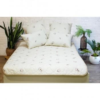 Одеяло Viluta Хлопковое стеганное 140х205 см Молочный